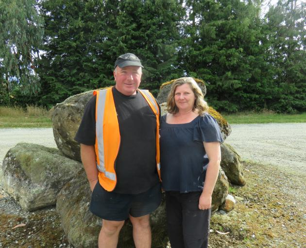 Travis Leslie and Catriona Cunningham, who manage Landcorp's Kepler Farm, near Te Anau, will be hosting a field day on May 9. They are the regional supreme title winners at the Southland Ballance Farm Environment Awards. Photo: Supplied