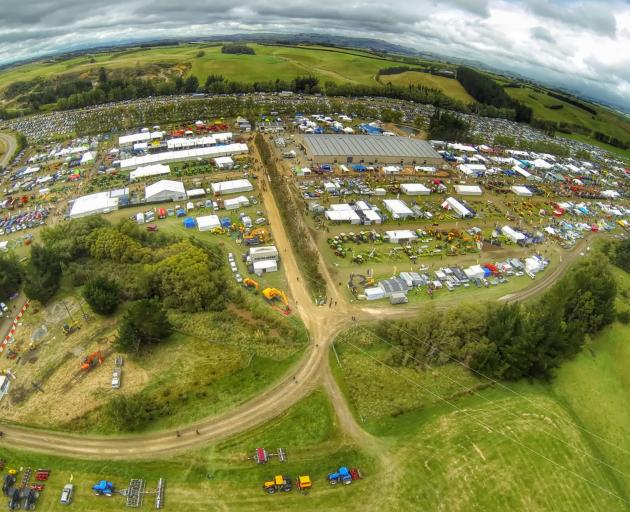 Southern Field Days, in Waimumu, is one of the biggest field days in the country and is only getting bigger. Photo: Aeronavics