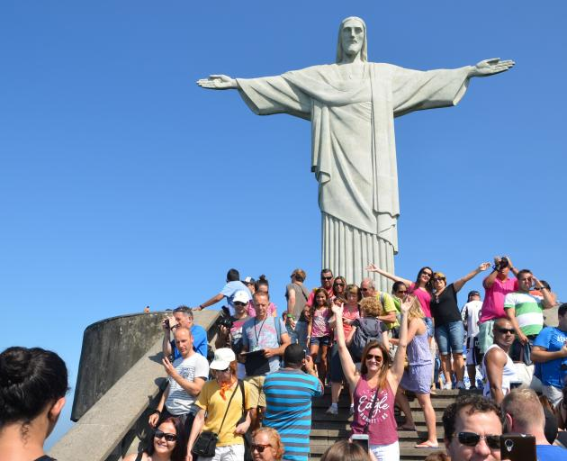 Christ the Redeemer in Brazil.