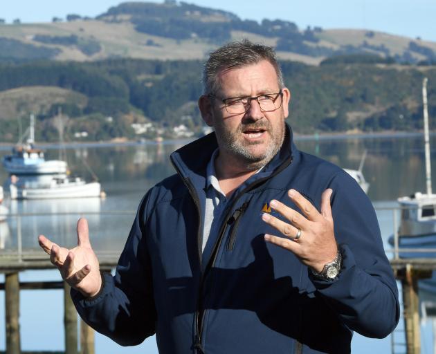 Harbourmaster Steve Rushbrook.