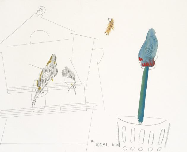 The Real Bird (Teal), by Joanna Margaret Paul