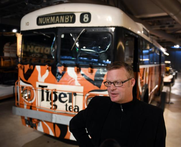 Toitu Otago Settlers Museum acting visitor experience manager Tim Cornelius with the much-loved...