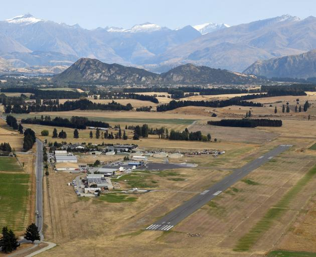 Wanaka Airport. Photo: Stephen Jaquiery