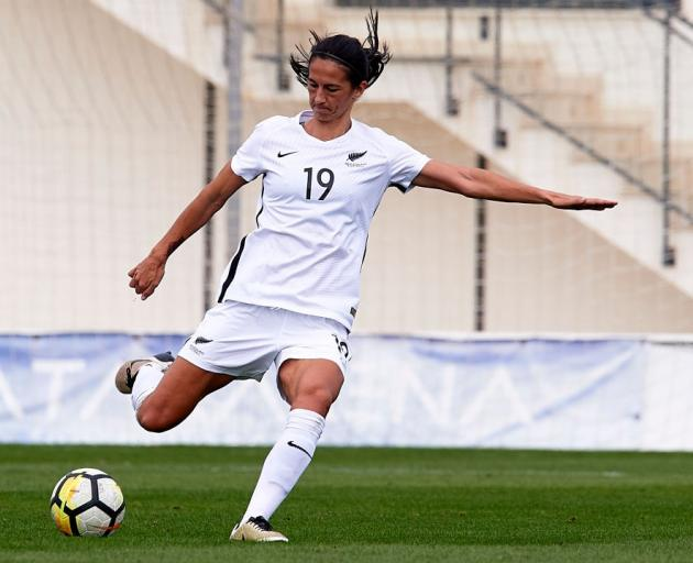 Veteran Abby Erceg could make a return to Football Ferns colours. Photo: Getty Images