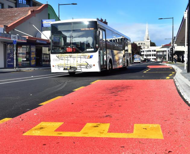 The bus hub in Great King St will complement any traffic changes needed for the new Dunedin...
