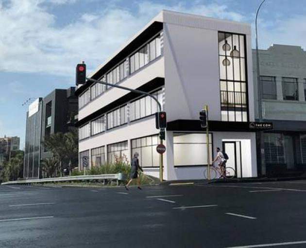 The Coh is a new three-storey Auckland complex that is about to be home to more than 20 adult flatmates. Photo / Supplied