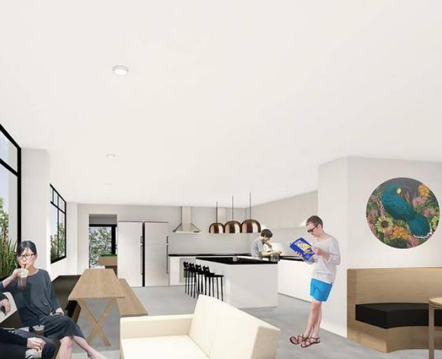 The Coh has communal living areas. Photo / Supplied