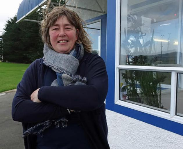 Peta Hill, Harbour Rugby Club's junior rugby chairperson. Photo: RNZ