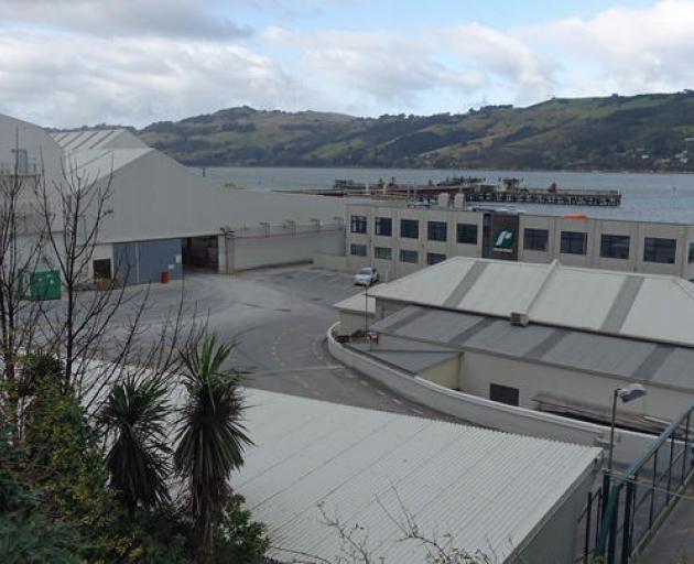 Ravensdown's offices in Dunedin's harbour. Photo: RNZ