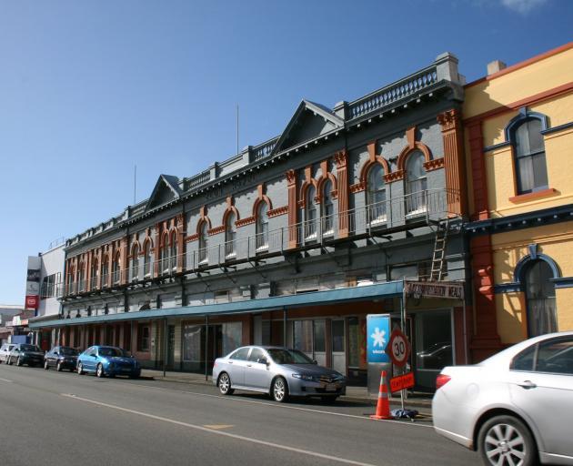 The Club Hotel, in Bluff. Photo: Janette Gellatly
