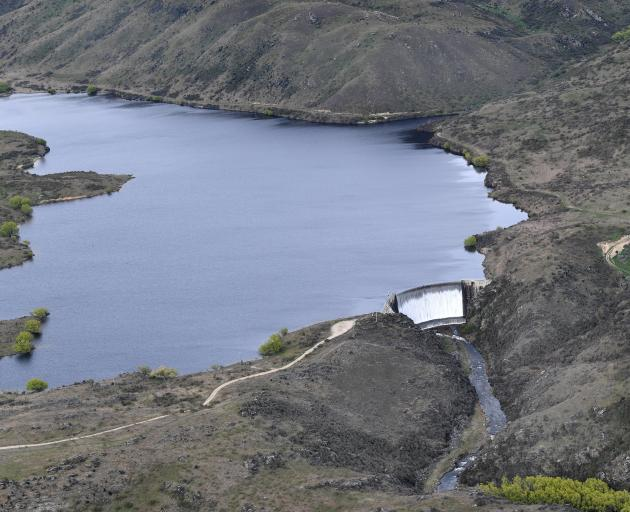 Frasers Dam, west of Alexandra, was built in 1935, as part of a government irrigation project during the Depression era. Photo: Stephen Jaquiery