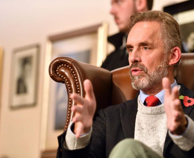 """The Self-styled """"Professor Against Political Correctness"""" Jordan Peterson Speaks To The Cambridge..."""