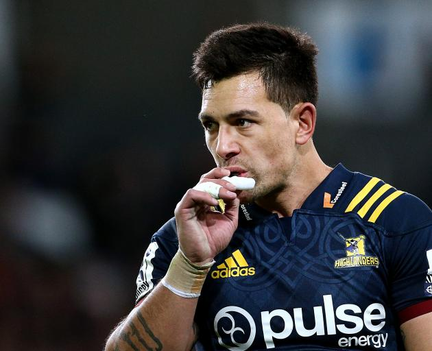 Rob Thompson during last week's draw with the Bulls. Photo: Getty Images