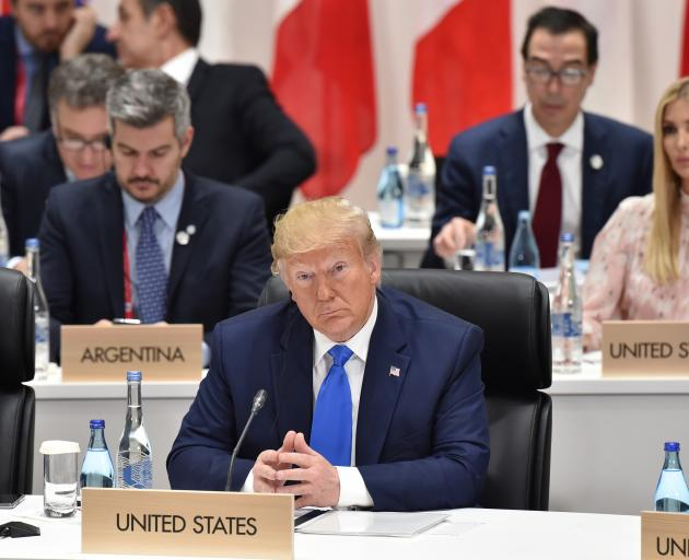 Donald Trump has been in Osaka, Japan for the G20 Summit. Photo: Getty Images