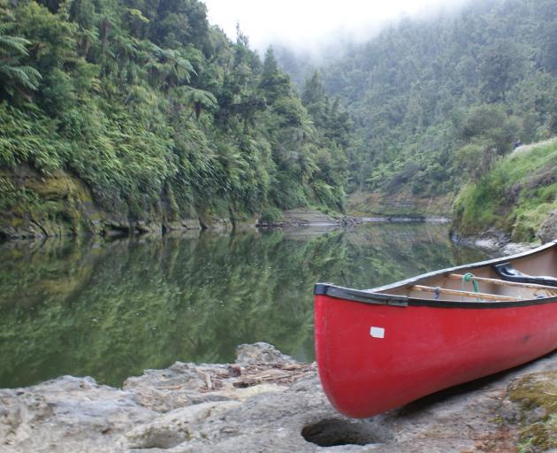 The Whanganui River (above) and Te Urewera (next image) have been granted legal personality...