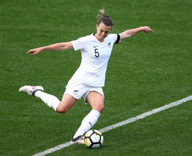 Meikayla Moore has been ruled out of the women's football World Cup. Photo: Getty Images
