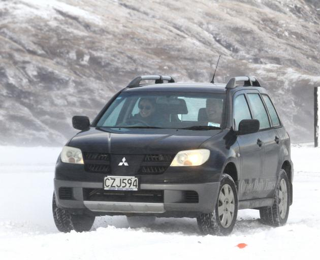 Across Otago and Southland our roads can be unforgiving when Mother Nature decides to let loose. Snow and ice can be unforgiving. Photo: Hamish MacLean