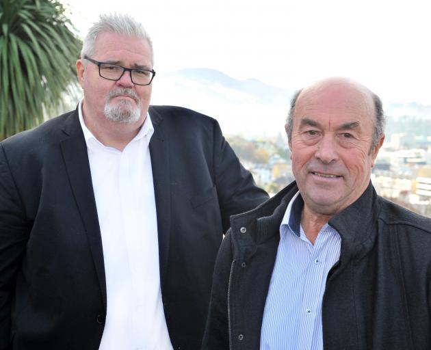 Ngai Tahu representatives Tahu Potiki (left) and Edward Ellison will sit on the Otago Regional...