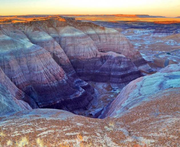 Petrified Forest National Park in Arizona. Photo: Arizona Tourism