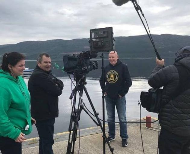 Between all of the work was a raft of media interviews, along with talks with multiple production houses about a potential documentary. Photo / Neil Gemmell, Twitter