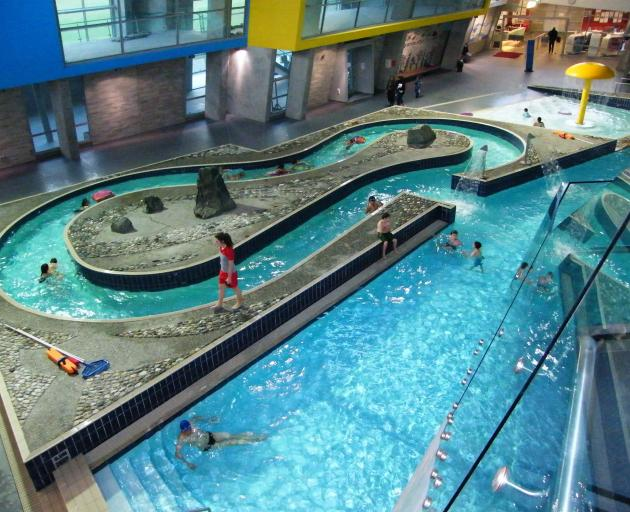 After the tile issue was noticed last month, management closed the pool's two hydroslides, 'lazy...