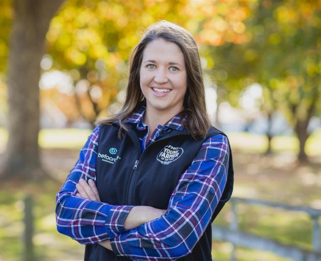 Georgie Lindsay is looking forward to the Young Farmer of the Year grand final. Photo: New Zealand Young Farmers
