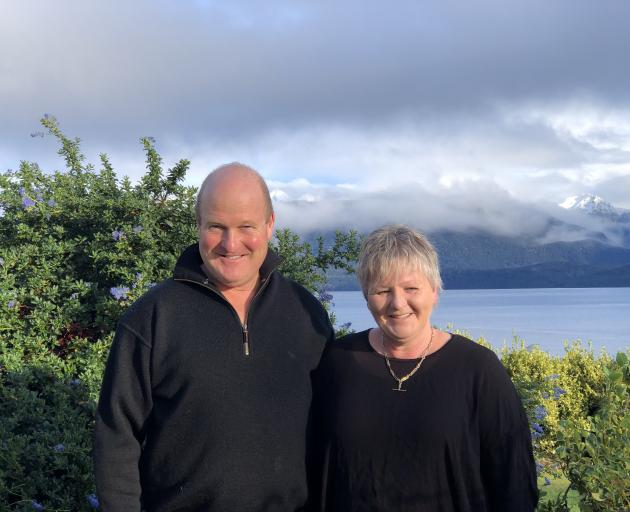 Carolyn and Andrew Clegg are shearing contractors in Te Anau and Mrs Clegg is the New Zealand Shearing Contractors Association's (NZSDA) new vice-president. Photo: Supplied