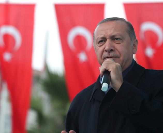 Turkish President Tayyip Erdogan. Photo: Reuters