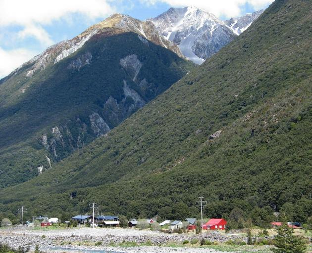 Search and rescue teams are currently looking for a man in Arthur's Pass, pictured, after he...