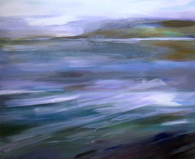 Jacks Bay, Winter, by Angela Burns