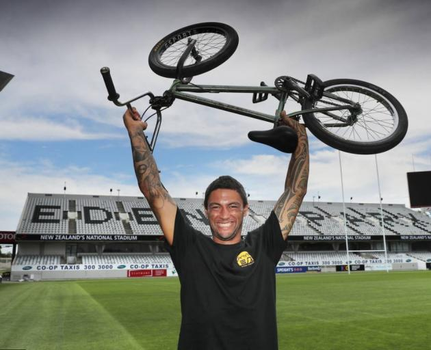 Jed Mildon from Nitro Circus holds the Guinness World Record for the most backflips on a bike in...
