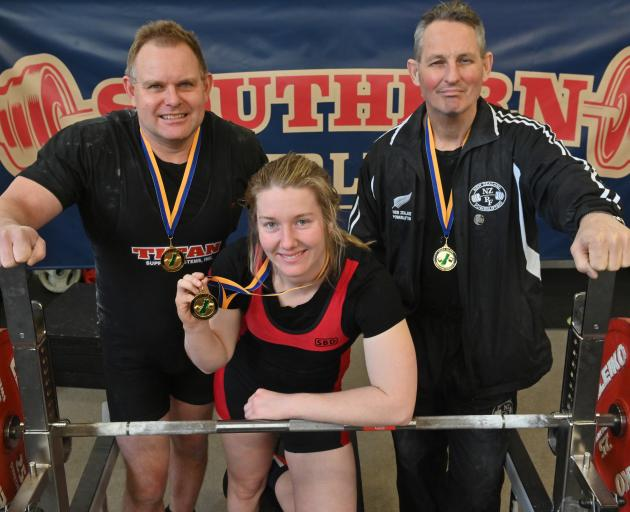 Notable performers at the South Island bench press championships in Dunedin on Saturday are...