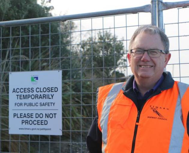 Timaru City Council's land transport manager Andrew Dixon says the council cannot push the...