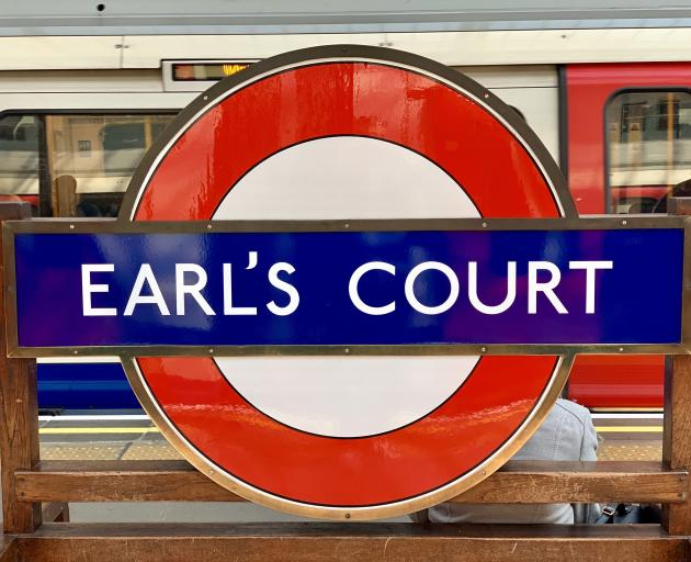 The London Underground 1973 Stock trains still call at the Piccadilly Line's Earls Court station.