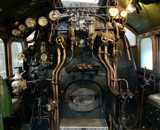 You can get up close and personal with Flying Scotsman's incredible driver's cabin at York's...
