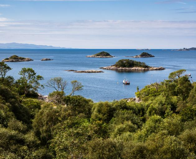 A view from the Jacobite near Mallaig. Photo: Getty Images