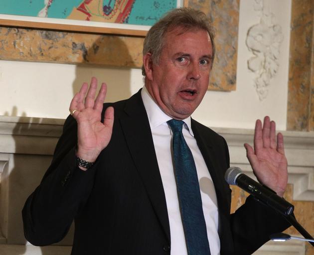 British Ambassador to the US Kim Darroch. Photo: Getty Images