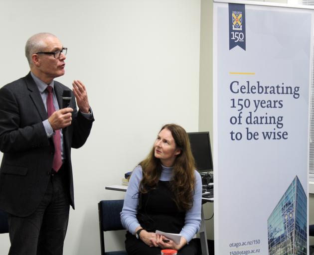 Associate Prof  Konrad Richter, associate dean Southland at the Dunedin School of Medicine,  and...