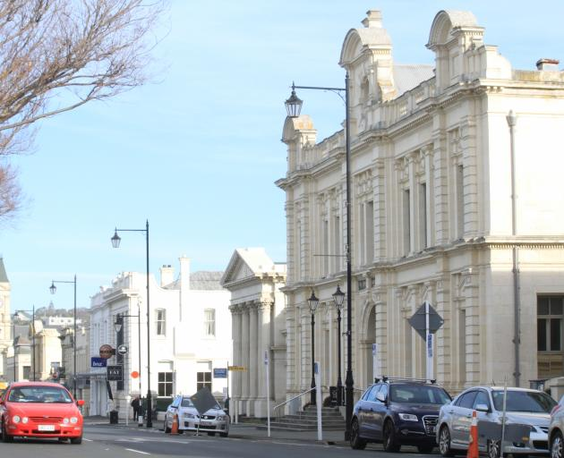 The Oamaru Opera House, right, still carries $3,406,793 in debt after the Lower Thames St landmark was reopened on February 20, 2009. At the time of its refurbishment, $3million from the development of Forrester Heights, at Oamaru Harbour, was to be used