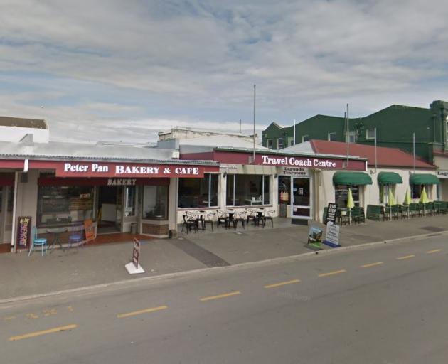 The boy was struck near Peter Pan Bakery. Photo: Google