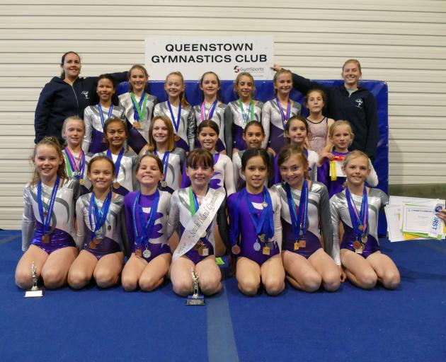 The Queenstown Gymnastics Club's young charges are cartwheeling with joy after the club finally found a new place to call home - at least temporarily. Photo: MIranda Cook