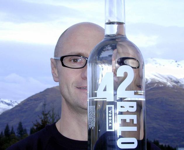 Geoff Ross pictured in Queenstown in 2003 for the 42 Below Cocktail World Cup. PHOTO: SOPHIE...