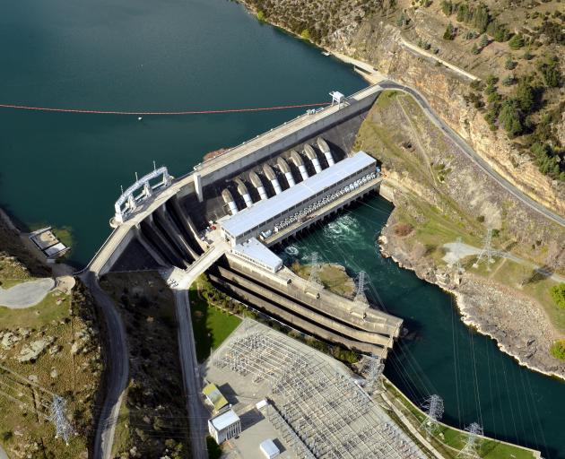 Roxburgh Dam. PHOTO: ODT FILES
