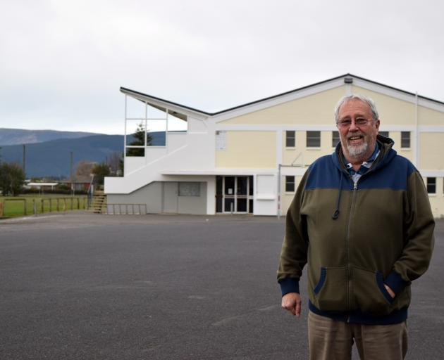Mosgiel Caravan Park operator and lease owner Paul Brooks supports a recommendation to build the town's new aquatic facility built near the gymnasium in Mosgiel Memorial Park. Photo: Shawn McAvinue
