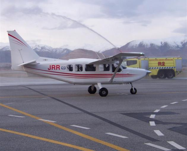 The new addition to the Glenorchy Air fleet, a refurbished GA8 Airvan. Photo supplied.