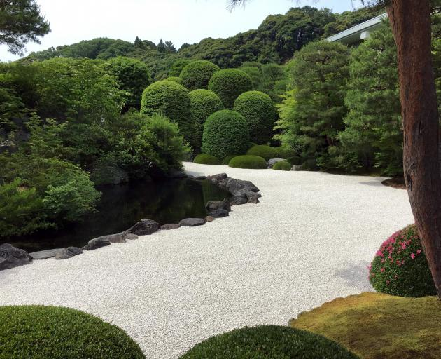 One of the gardens of Adachi Museum, Matsue.