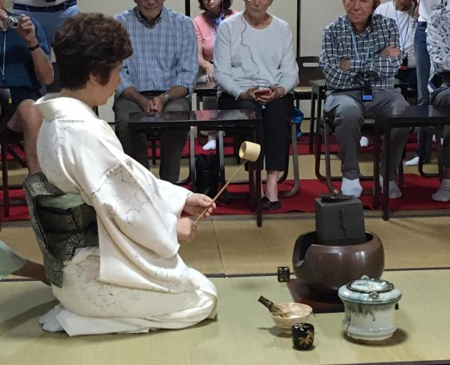 Traditional tea ceremony
