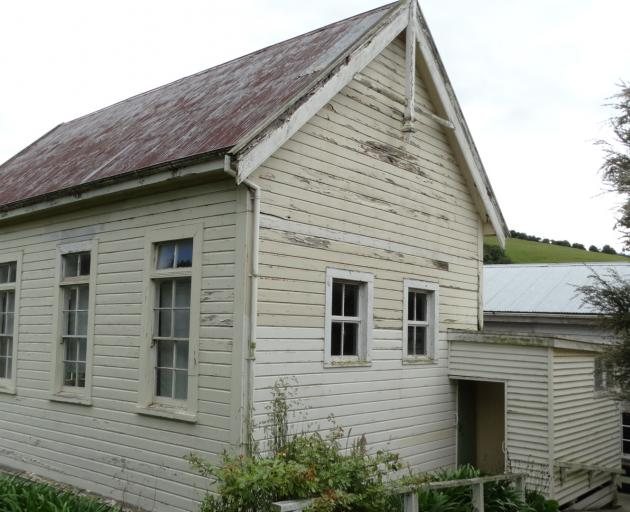 The exterior of the historic Outram School building at the Taieri Historical Museum and Park. Photo: Brenda Harwood