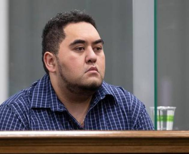 William Wakefield in the dock during day one of his murder trial in the High Court at Wellington....