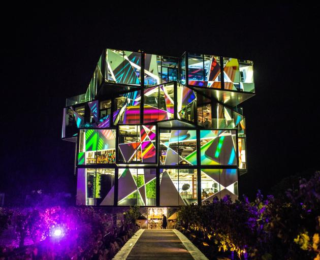 The Cube at D'Arenberg Winery.